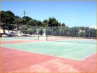 Armonia hotel Athens Beach hotel  Tennis court